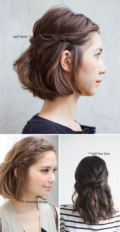 short hair 10 quick easy styles short hair