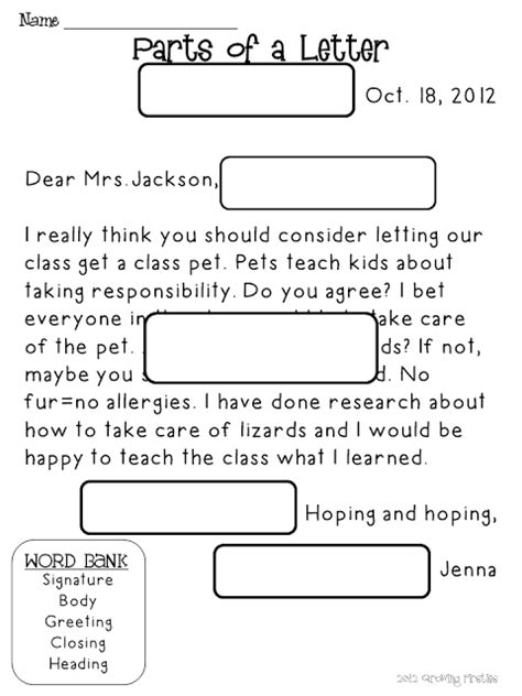 friendly letter writing pack classroom friendly letter letter