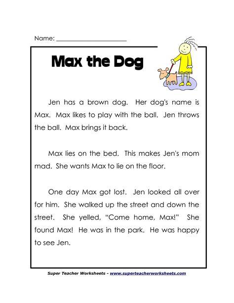 1st grade reading worksheets free lots superteacherworksheets gambar
