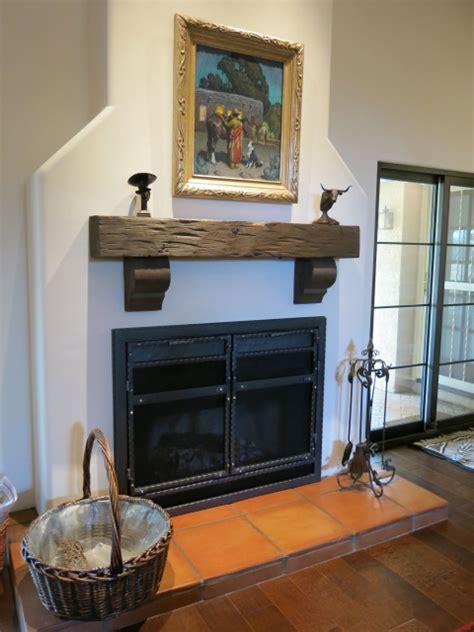 exelent ideas reclaimed wood mantel homesfeed