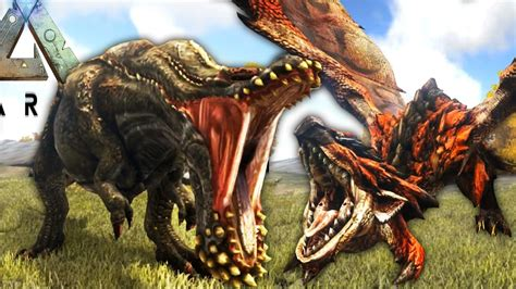 ark survival evolved epic monsters fight death ark