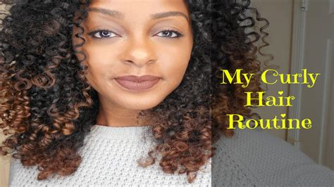 curly hair routine wash youtube