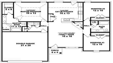 3 bedroom duplex floor plans 3 bedroom story