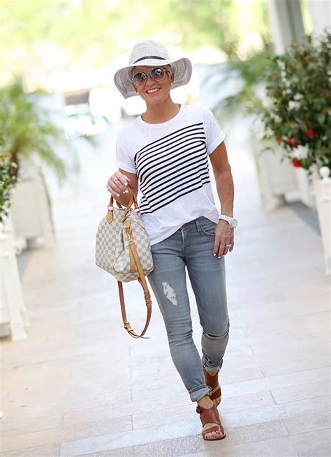 chic 50 style interview shauna trendy summer outfits
