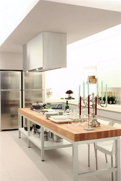 51 awesome small kitchen island designs page 6