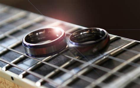 titanium wedding rings guitar strings keith phunkt valentine