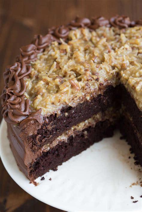 homemade german chocolate cake tastes scratch