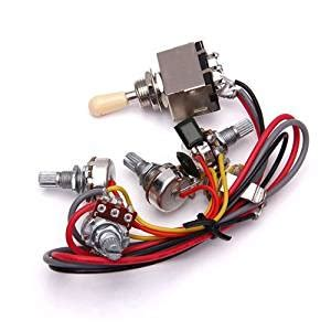 amazon wiring harness 3 toggle switch 2v2t 500k