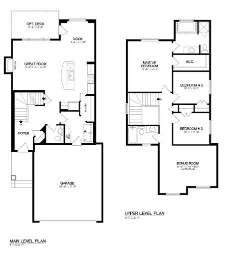 pin broadview homes floor plans open concept house
