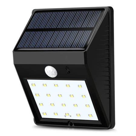 leadingstar outdoor solar wall lights 20 led super