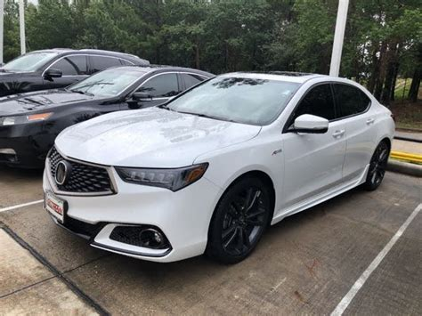acura tlx spec fwd technology package sale houston