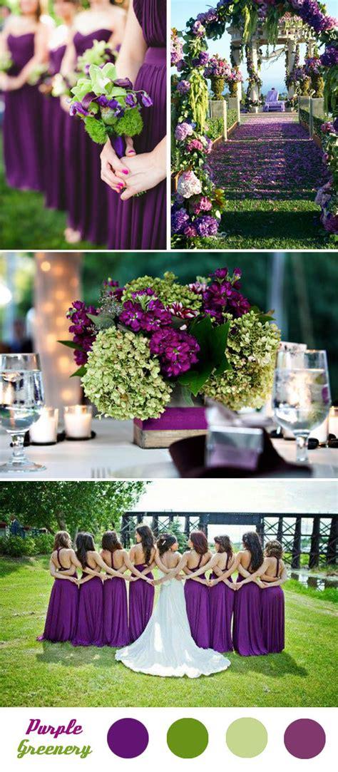 fantastic spring summer wedding color palette ideas green