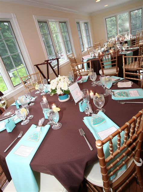 30 images tiffany blue chocolate brown wedding inspiration