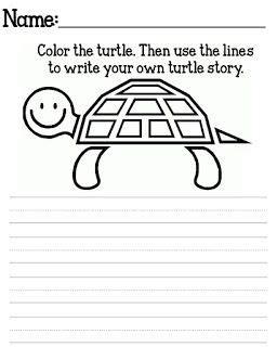 free yertle turtle printables 1st grade writing seuss