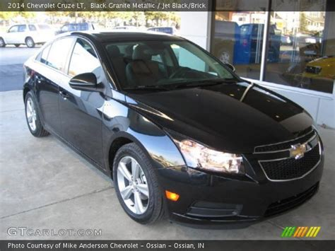 black granite metallic 2014 chevrolet cruze lt jet