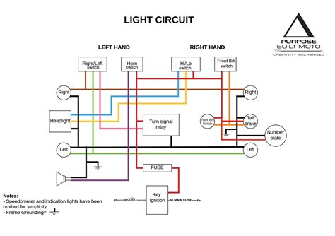 motorcycle brake light switch wiring diagram circuit diagram