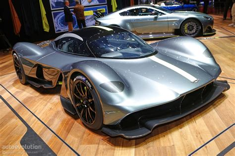 aston martin valkyrie shows geneva wearing michelin rubber