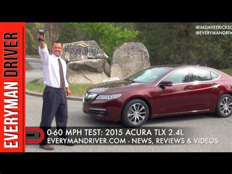 fast 0 60 mph 2015 acura tlx 2