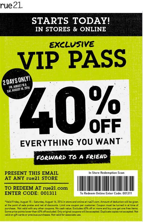 insane rue 21 printable coupon obrien website
