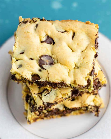cake mix cookie bars recipe build bite