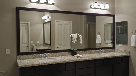 customer bathroom las vegas frame mirror
