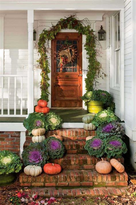 40 amazing ways decorate front door fall style