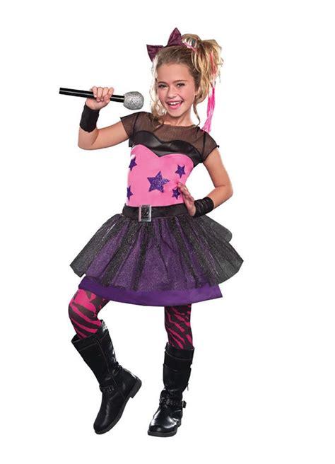 girls rockstar sweetie costume dreamgirl 9568 dreamgirl rockstar