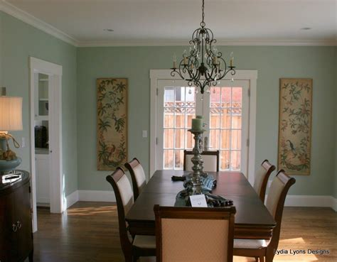 hc 140 prescott green green dining room walls