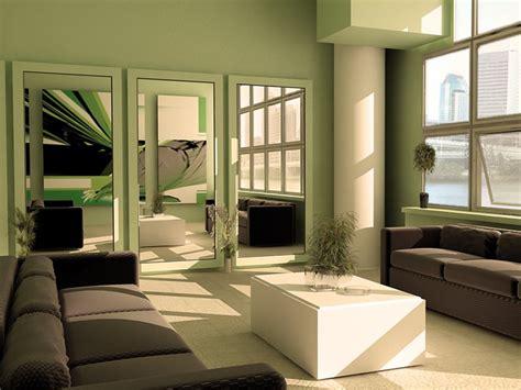 green minimalist living room paint color scheme 4