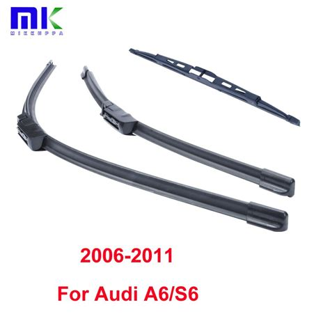 combo front rear wiper blades audi a6 s6