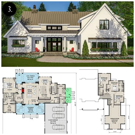 12 modern farmhouse floor plans rooms rent blog