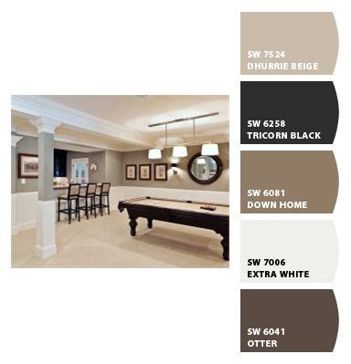 basement colors paint colors chip sherwin williams color