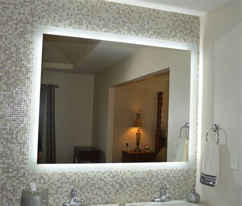 lighted vanity mirrors wall mounted mam95644 56 x44