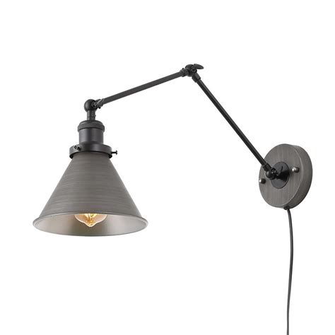 lnc 1 light dark gray wall adjustable