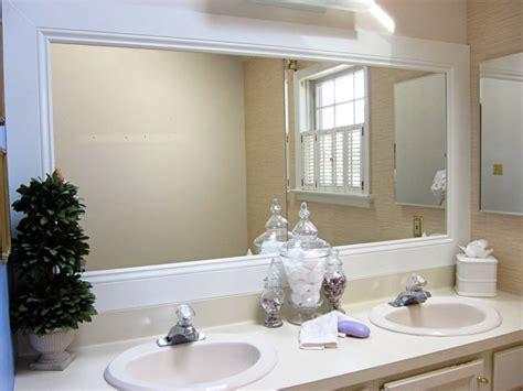 frame bathroom mirror