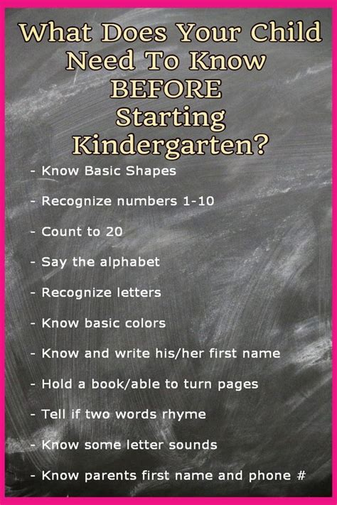 kindergarten checklists 2019 free printable readiness checklists kindergarten