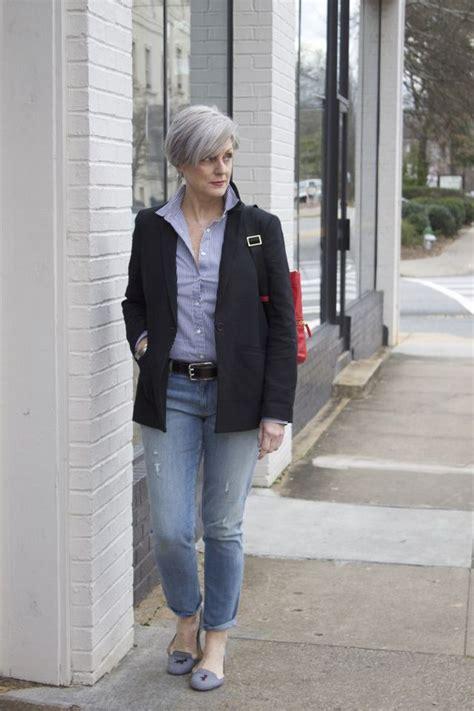 casual outfits 50 year woman fashion fifty glossyu
