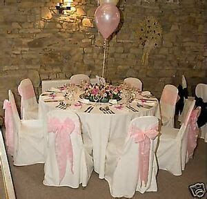 wedding chair covers table accessories hire ebay