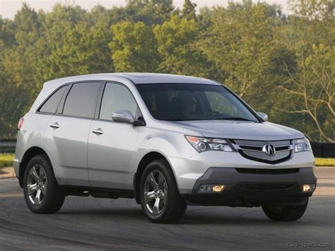 2009 acura mdx suv specifications pictures prices