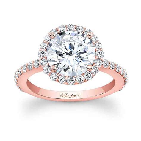 barkev rose gold engagement ring 7839lp barkev