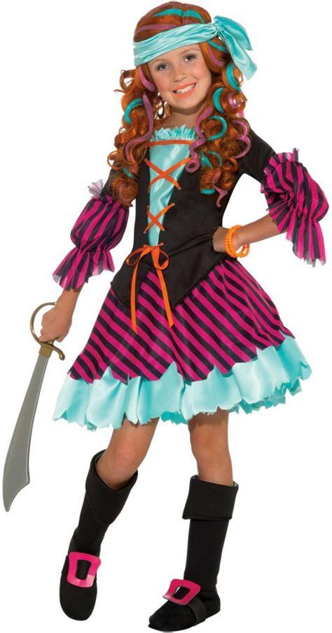 salty taffy kids costume pirate girl costume halloween