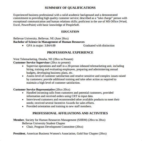 sle customer service representative resume 9 free documents