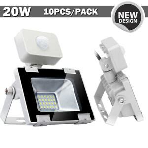 10x 20w led flood light pir motion sensor