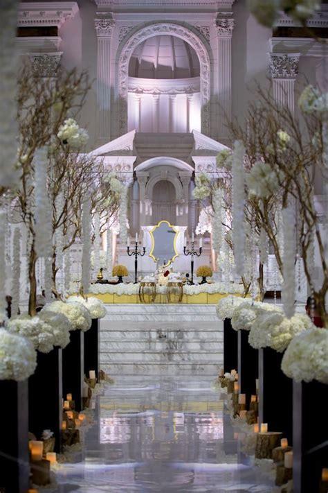 black white glamorous wedding gold wedding decorations wedding