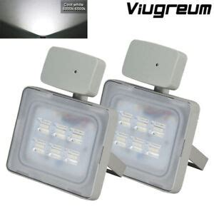 2x 20w led pir motion sensor flood light