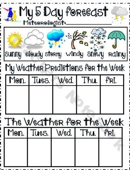 image result weather forecast kids questions