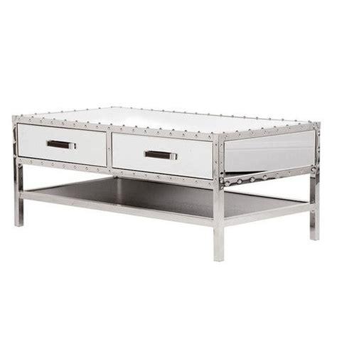 mirrored trunk coffee table mirrored furniture