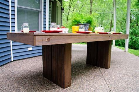 modern outdoor patio table ana white