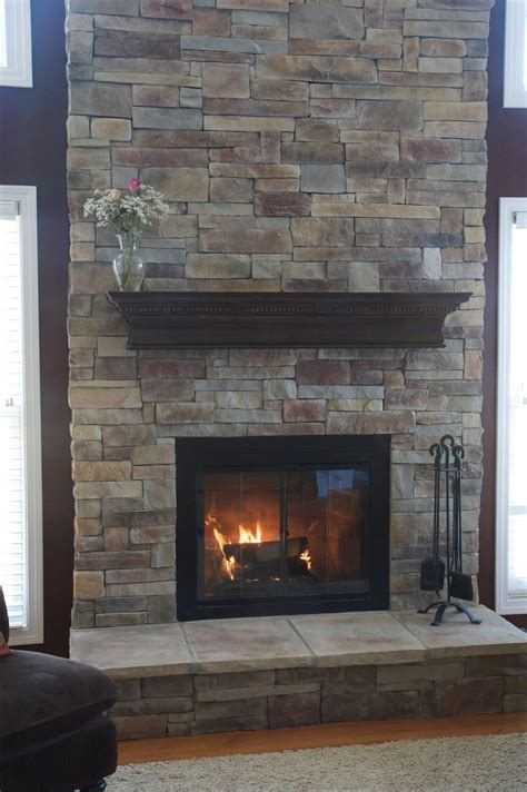 Stone Fireplace Mantels