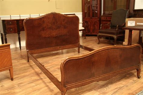 full size bed frame french walnut